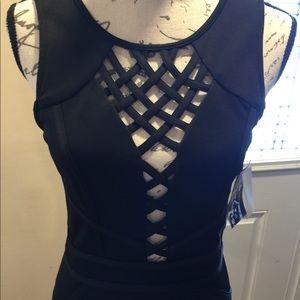 Trixxi Black Minu Dress